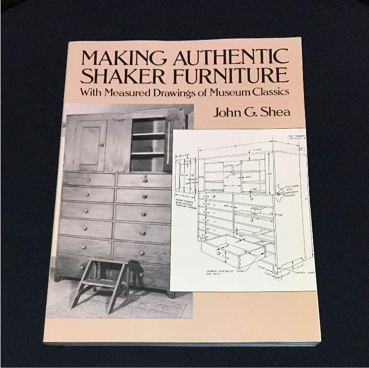 With Measured Drawings of Museum Classics Making Authentic Shaker Furniture