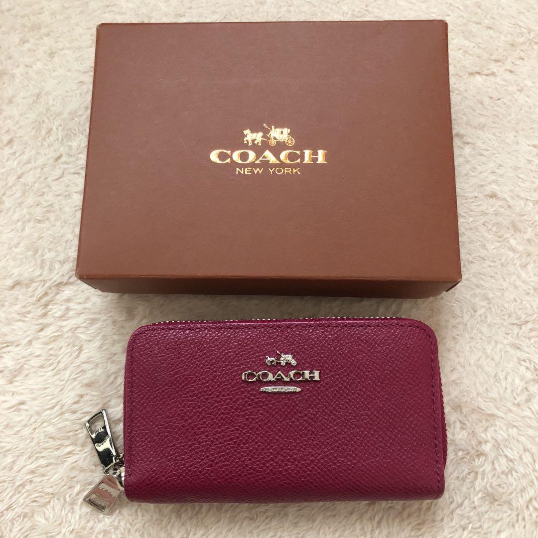 pretty nice 6e0a2 42728 COACH コーチ 財布 ミニ財布 折り財布 人気商品(¥11,000) - メルカリ スマホでかんたん フリマアプリ