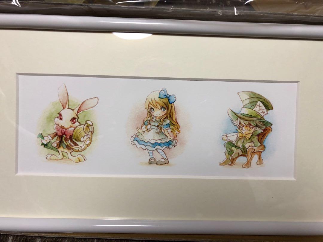 メルカリ すし Shu イラスト 額入り絵画 絵画タペストリ 13777