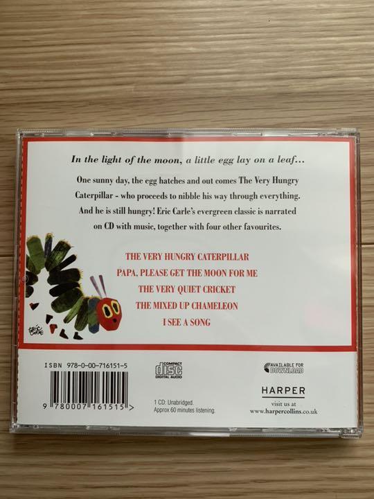 はらぺこあおむし英語CD☆THE VERY HUNGRY CATERPILLAR(¥ 750) - メルカリ スマホでかんたん フリマアプリ