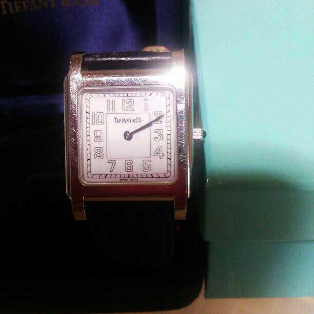 wholesale dealer 0b688 37523 セール ティファニー TIFFANY 腕時計 レディースウォッチ(¥10,700) - メルカリ スマホでかんたん フリマアプリ