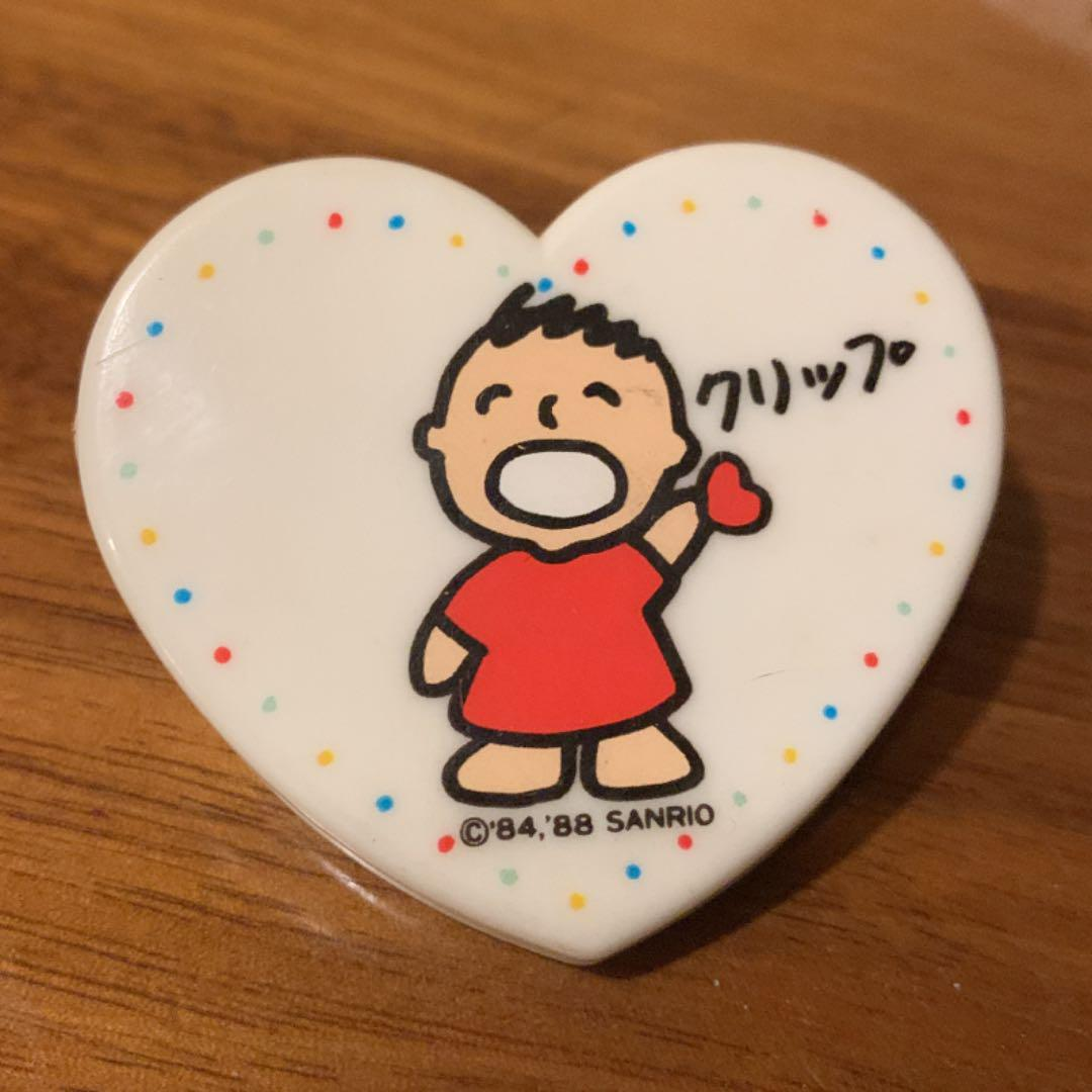 メルカリ サンリオ みんなのたあ坊 ター坊 クリップ 文房具 Sanrio キャラクターグッズ 500 中古や未使用のフリマ