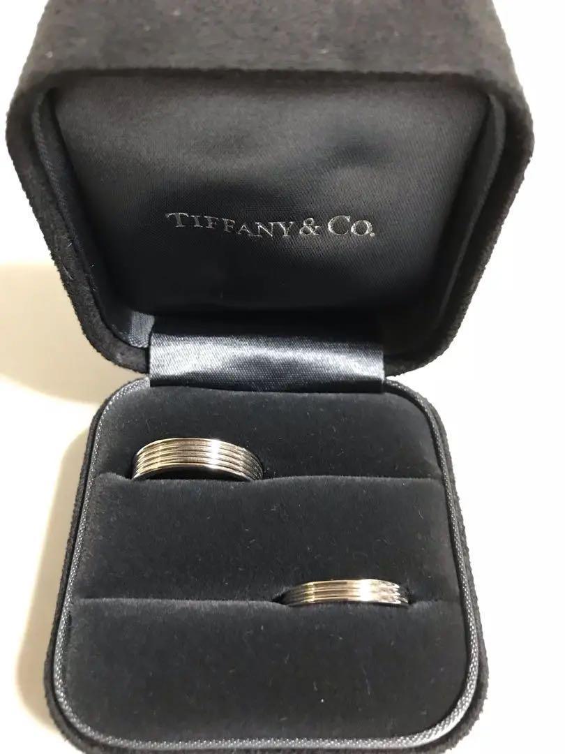 official photos a63b4 67ad9 新品未使用 Tiffanyプラチナペアリング(¥71,000) - メルカリ スマホでかんたん フリマアプリ