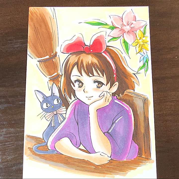 メルカリ 魔女の宅急便 イラスト コミックアニメ 980 中古や未