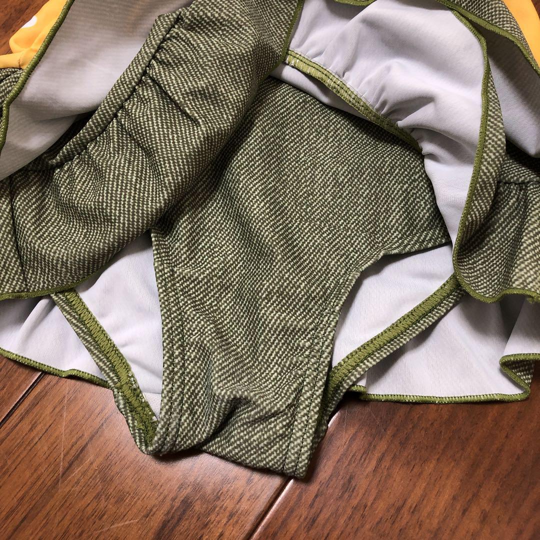 14bbf1e6a3f メルカリ - お揃い帽子付き ワンピース水着 90㎝ 【ベビー服(女の子用 ...