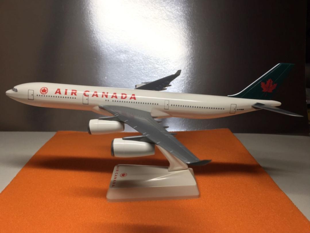 メルカリ - AIR CANADA エアバスA340-300プラスチックモデル 【航空機 ...