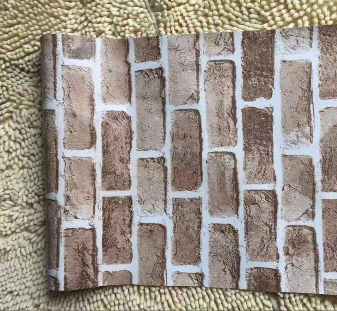 メルカリ レンガ調壁紙タイプa01 はがせる壁紙シール インテリア小物 1 700 中古や未使用のフリマ