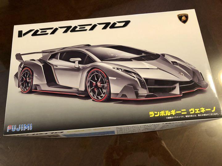 1/24 プラモデル ランボルギーニ ヴェネーノ(¥2,500) , メルカリ スマホでかんたん フリマアプリ