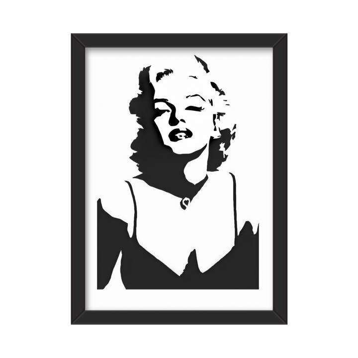 メルカリ オマージュポスター マリリンモンロー0146 アート 写真 800 中古や未使用のフリマ