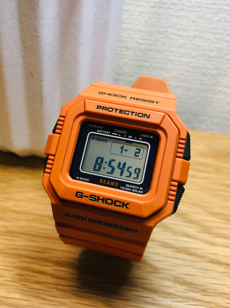 best cheap f0113 be3fc beamsコラボ☆G-SHOCK 5500シリーズ(¥9,500) - メルカリ スマホでかんたん フリマアプリ