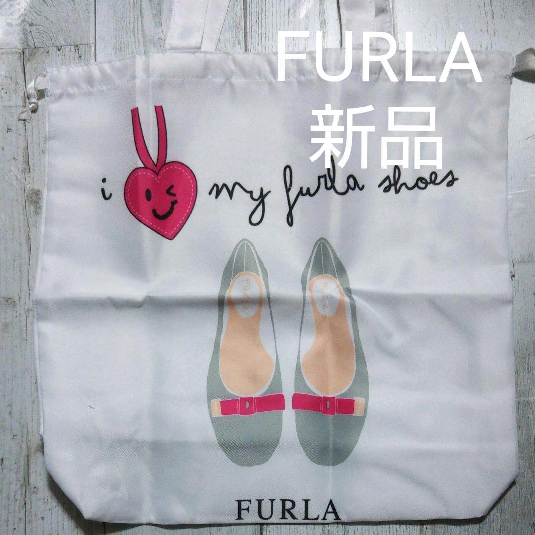 7505ea185519 メルカリ - 【新品】FURLA シューズバッグ 【トートバッグ】 (¥800) 中古 ...