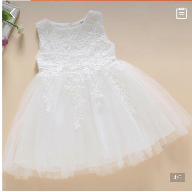 12ca02acf5ba9 メルカリ - 90cm ベビードレス フォーマル 女の子 結婚式 新生児 出産 ...