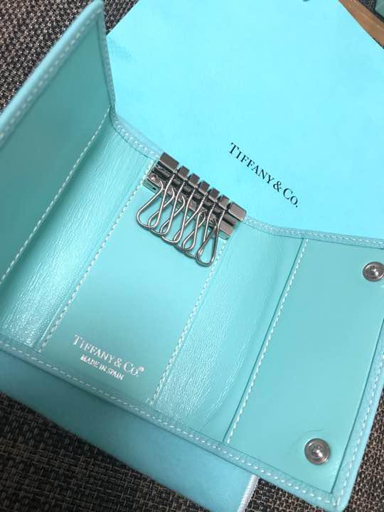 buy online 9ec5a fa2ba 未使用 Tiffany キーケース レザー ティファニーブルー(¥35,000) - メルカリ スマホでかんたん フリマアプリ