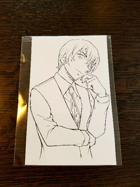 メルカリ 名探偵コナン 安室透コナンぬりえ キャラクターグッズ