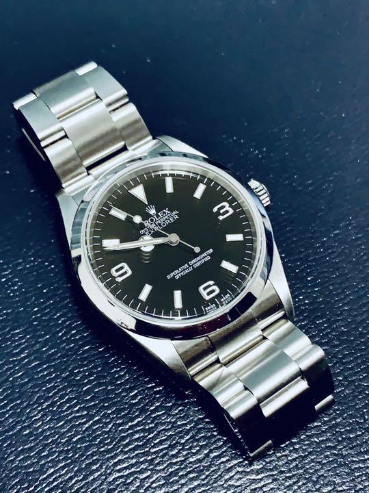 watch 27fb6 95c7d けんちゃん様専用 ロレックス エクスプローラー1 (114270、最終価格)(¥500,000) - メルカリ スマホでかんたん フリマアプリ