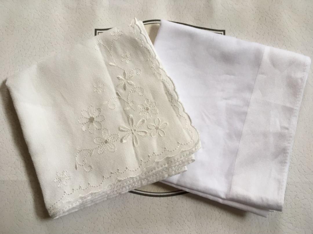 専用♪ 結婚式 新郎新婦用 白いハンカチ(¥1,000) , メルカリ スマホでかんたん フリマアプリ