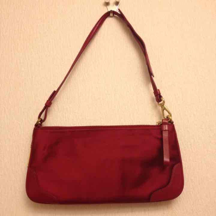 78678d532de7 メルカリ - COACHバッグコーチ赤BAG超美品パーティーバッグミニバッグ ...