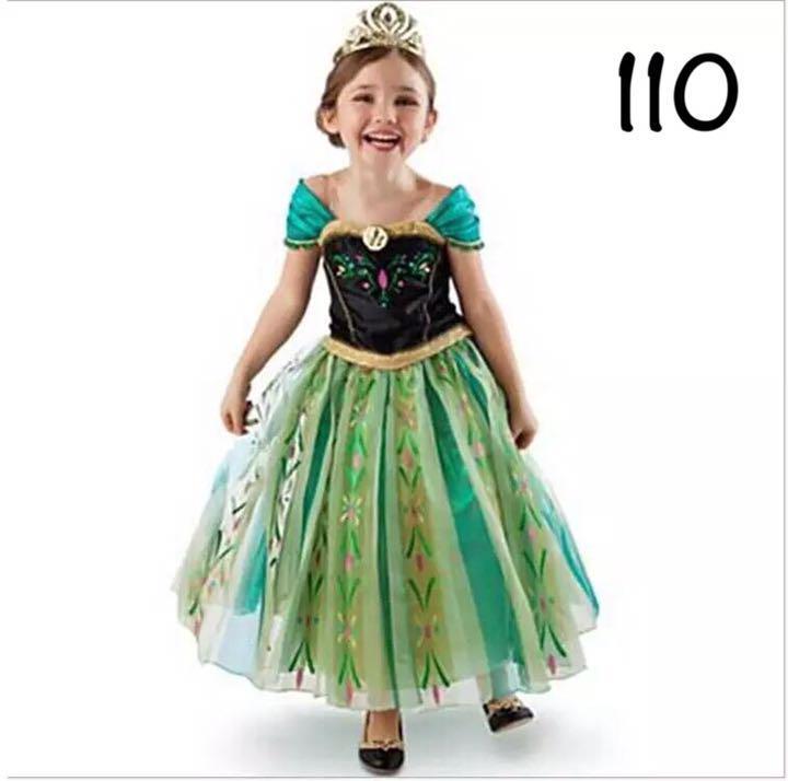 アナ ドレス プリンセスドレス アナ雪 110(¥1,690) , メルカリ スマホでかんたん フリマアプリ
