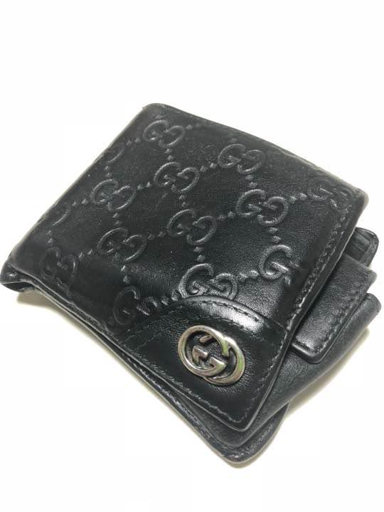 6c9920cd044b メルカリ - GUCCI メンズ 二つ折り財布 【グッチ】 (¥3,999) 中古や未 ...