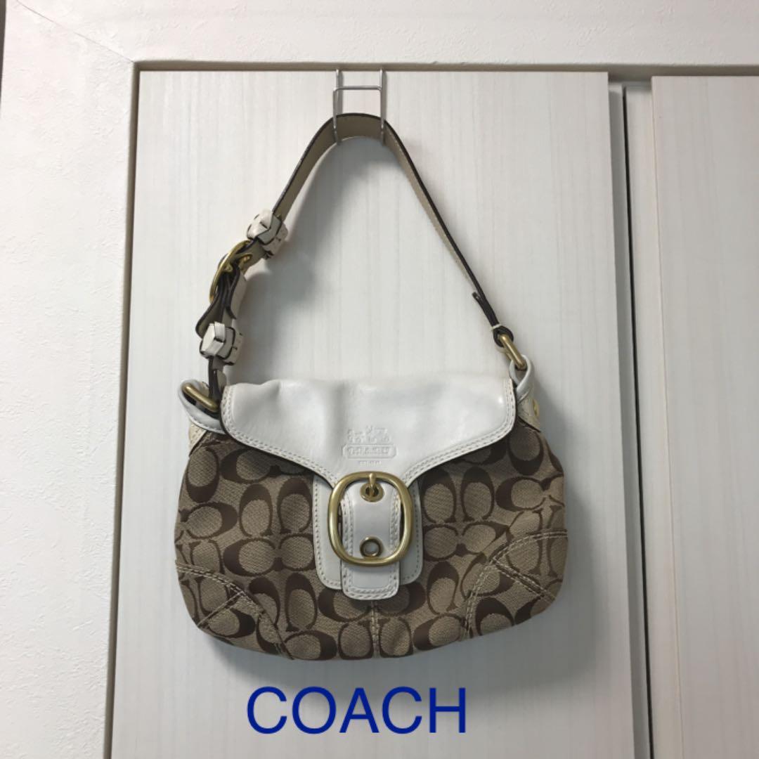 fb3b09ed5d72 メルカリ - COACH コーチ ショルダーバッグ 【コーチ】 (¥2,200) 中古や ...