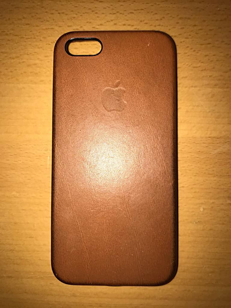 c020bcd0a7 メルカリ - iPhone SE はちさん専用 アップル純正レザーケース サドル ...