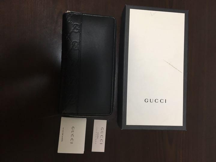 buy online 5c5d5 ba48d n男君様専用GUCCI 長財布 美品(¥ 46,000) - メルカリ スマホでかんたん フリマアプリ