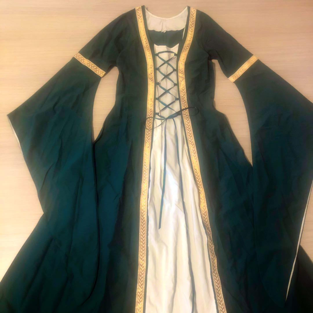 新品★ドイツ製ハンドメイド!中世ヨーロッパデザインドレス(¥14,000) , メルカリ スマホでかんたん フリマアプリ