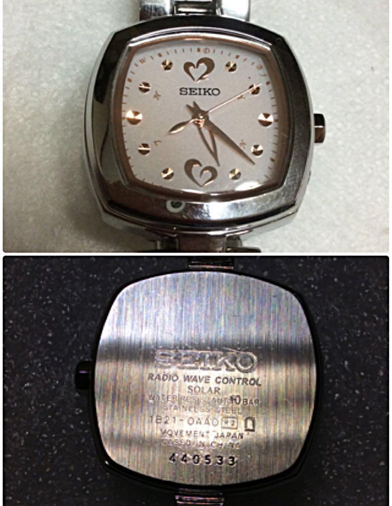 02d287f6fd メルカリ - 美品‼️SEIKO TISSE (セイコー・ティセ)電波ソーラー 腕時計 ...