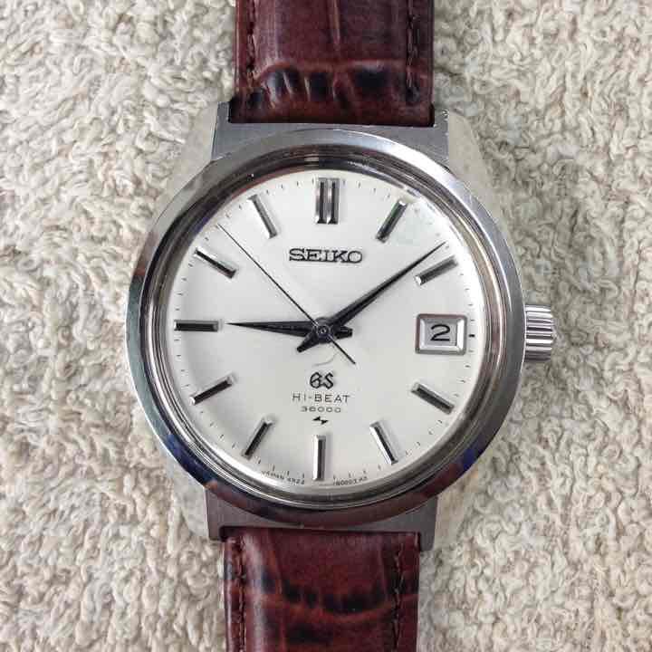 new product 67cc6 33a02 グランドセイコー45GS 手巻き腕時計(¥58,000) - メルカリ スマホでかんたん フリマアプリ