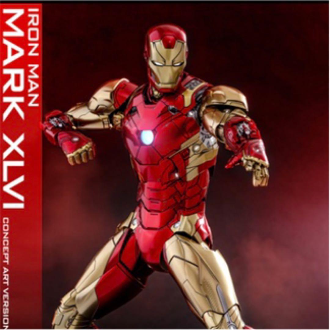 varmleksaker MCU 10T På årsdagen Iron Man Mark46 begränsade nya varor