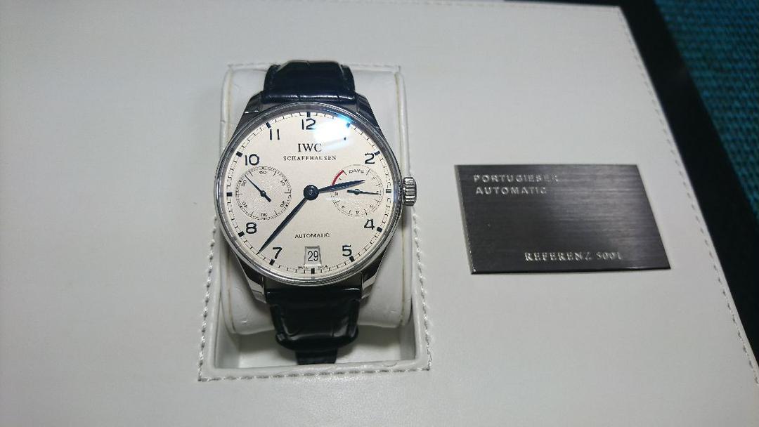 premium selection a9dc8 a2de1 BMEPZ様専用腕時計 IWCポルトギーゼ オートマチック7デイズ(¥650,000) - メルカリ スマホでかんたん フリマアプリ