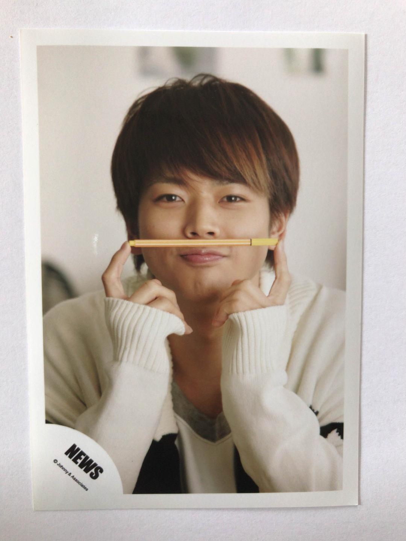 あざとかわいい増田貴久 まっすー NEWSロゴ 公式写真(¥300) , メルカリ スマホでかんたん フリマアプリ