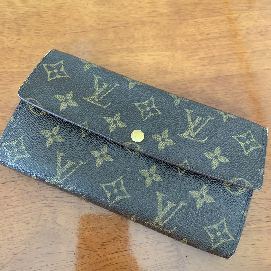 big sale d6956 bf75b ルイヴィトン長財布 モノグラム LOUIS VUITTON(¥4,000) - メルカリ スマホでかんたん フリマアプリ