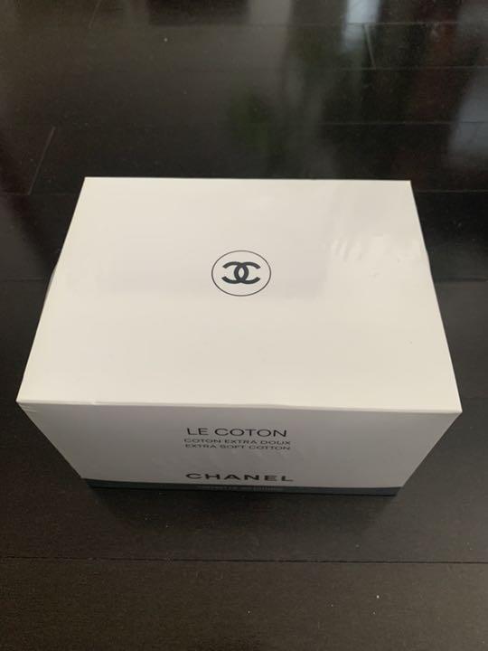 abc57b102df8 メルカリ - シャネル ル・コットン 100枚 未開封 【メイク道具/化粧小物 ...