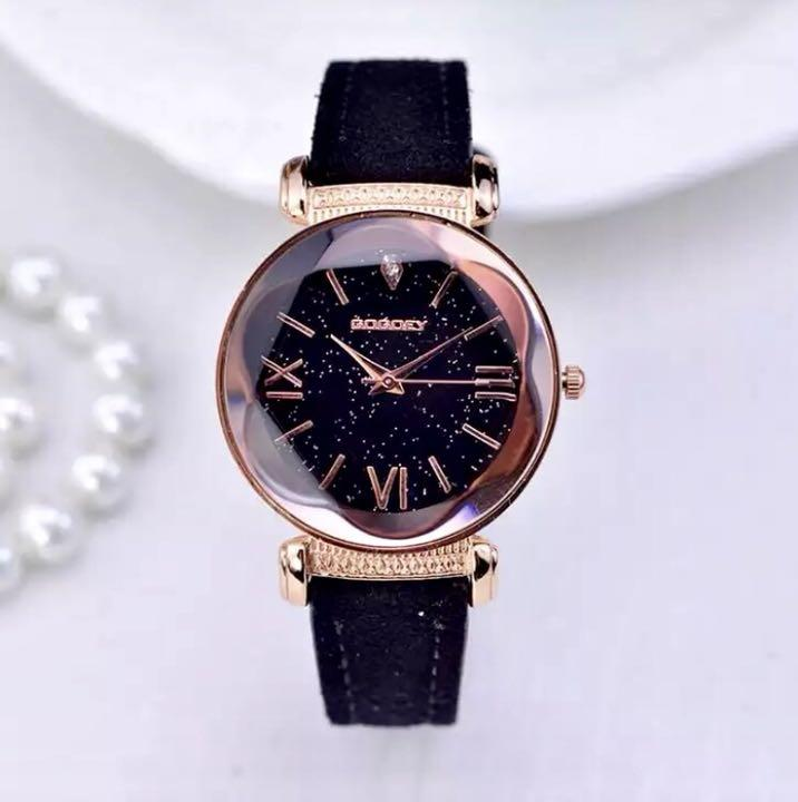 4f54d65c48 メルカリ - 星空文字盤×ブラック レディース 腕時計 【腕時計(アナログ ...