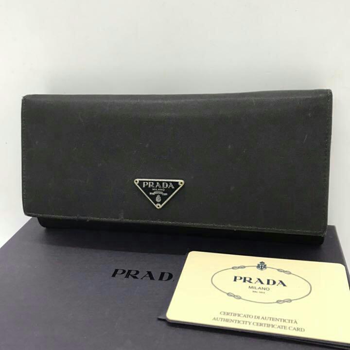 huge selection of 67737 6492a ⭐︎セール⭐︎ プラダ 長財布 黒 PRADA メンズ レディース(¥5,980) - メルカリ スマホでかんたん フリマアプリ
