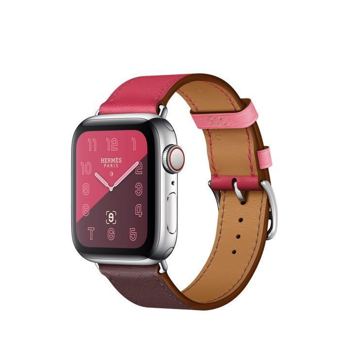 new product 8b76c 21f88 Apple Watch アップルウォッチ エルメス レザーストラップ40mm(¥55,500) - メルカリ スマホでかんたん フリマアプリ