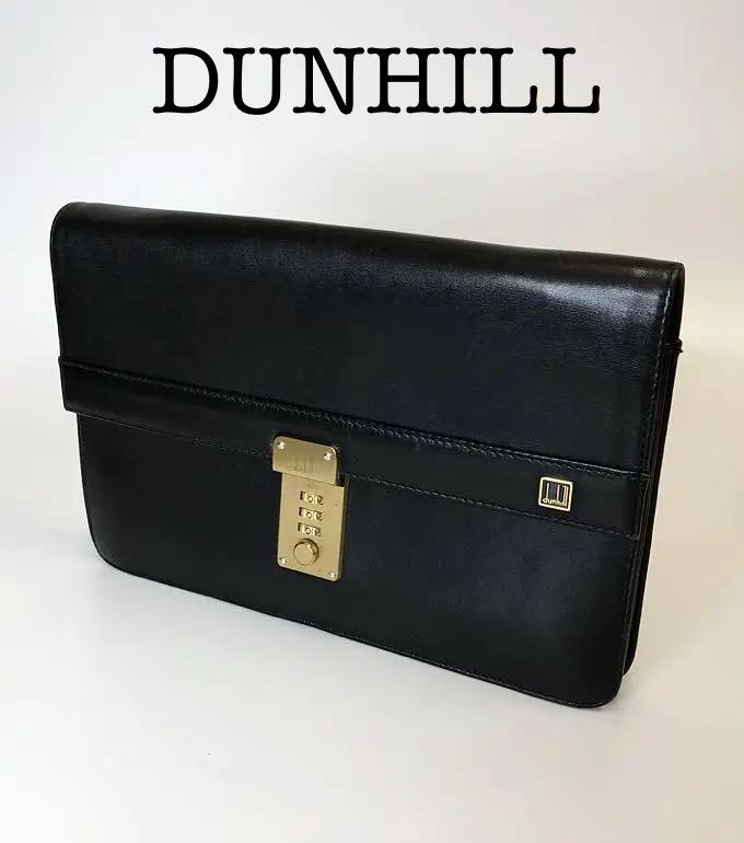 123779b242e3 メルカリ - DUNHILL ダンヒル セカンドバッグ レザー ダイヤルロック式 ...