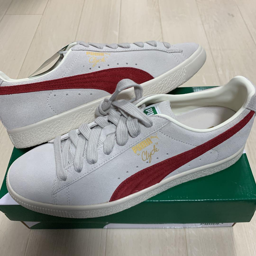 new concept 7b350 41fa1 PUMA Clyde From The Archive 27cm 新品未使用(¥6,500) - メルカリ スマホでかんたん フリマアプリ