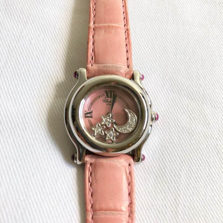 best website 4642a 23ac6 ショパール CHOPARD 腕時計 ハッピースポーツ(¥220,000) - メルカリ スマホでかんたん フリマアプリ
