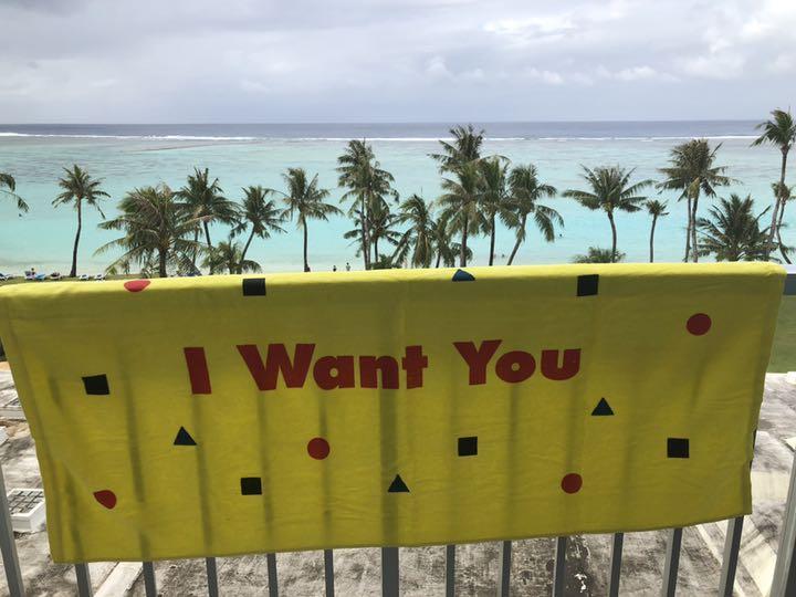 SHINee ビーチタオル I Want You(¥4,999) - メルカリ スマホでかんたん フリマアプリ