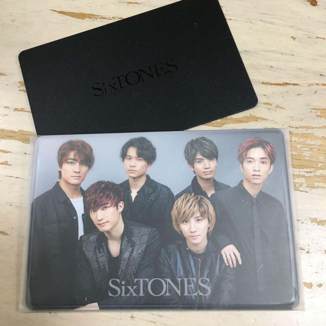証 Sixtones 会員