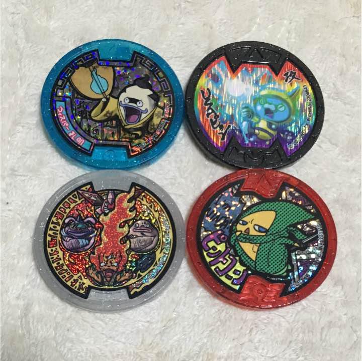 メルカリ 妖怪ウォッチ 妖怪メダル はぐれ 4種類セット キャラクター