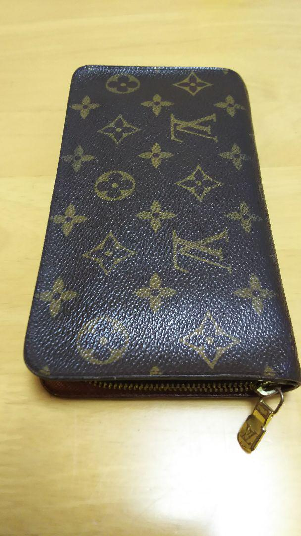 buy popular b8d27 d8f8a ルイヴィトン モノグラム 長財布 中古品(¥11,000) - メルカリ スマホでかんたん フリマアプリ