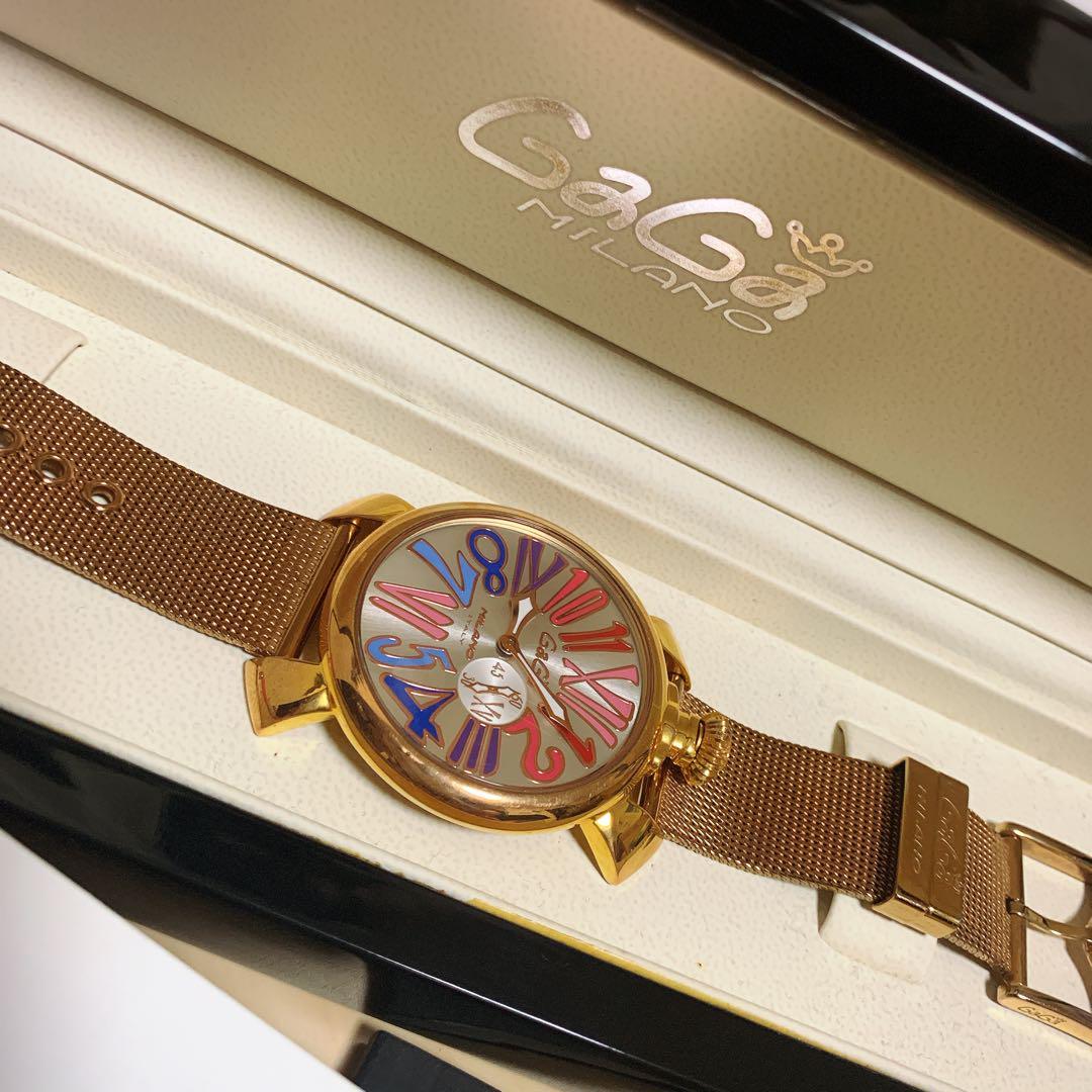 big sale c7f2e f488f ガガミラノ レディース 腕時計(¥32,000) - メルカリ スマホでかんたん フリマアプリ
