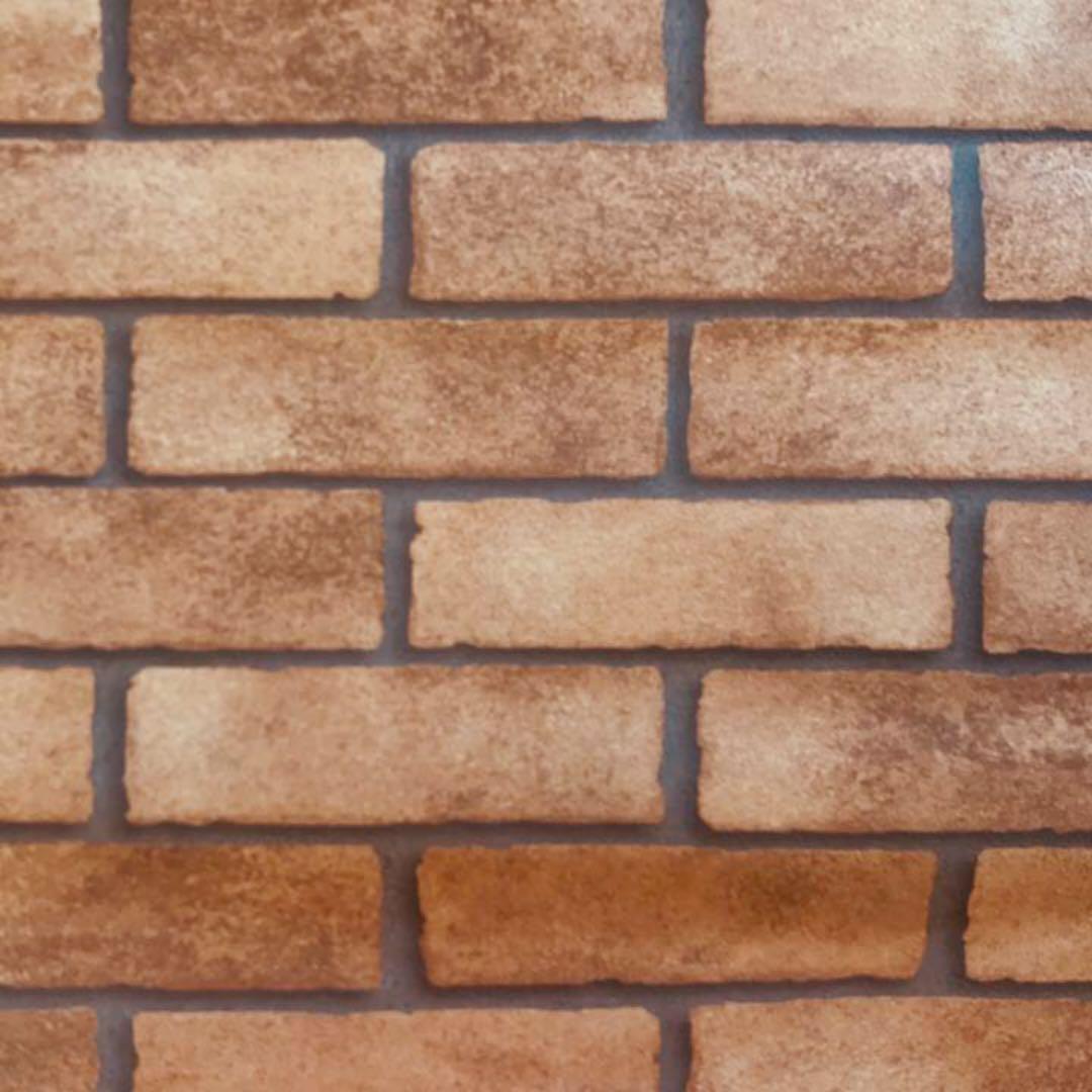 メルカリ 壁紙 レンガ風 クロス ブラウン インテリア 住まい 小物 2 800 中古や未使用のフリマ