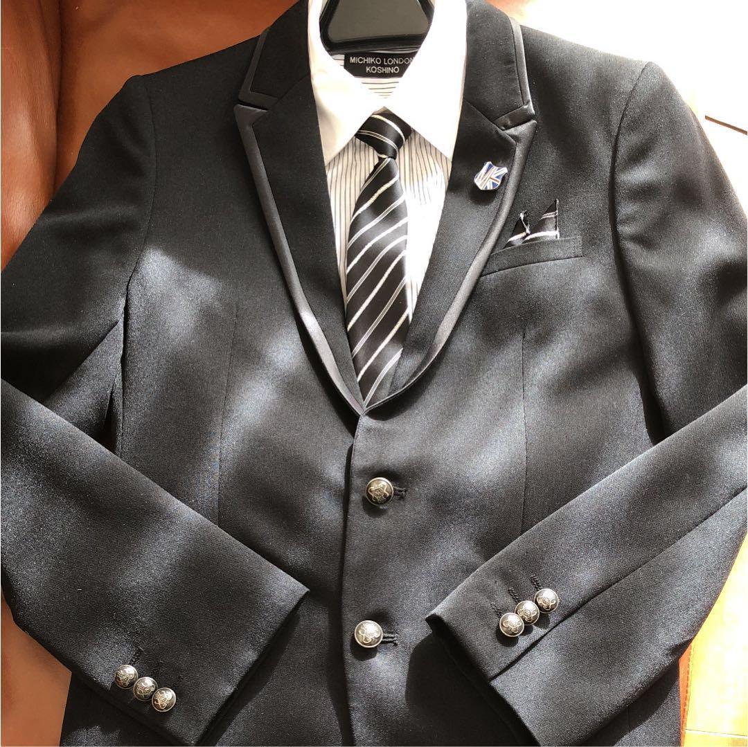 11d938990f26f メルカリ - 150 スーツ ミチコロンドン 男児  フォーマル ドレス ...