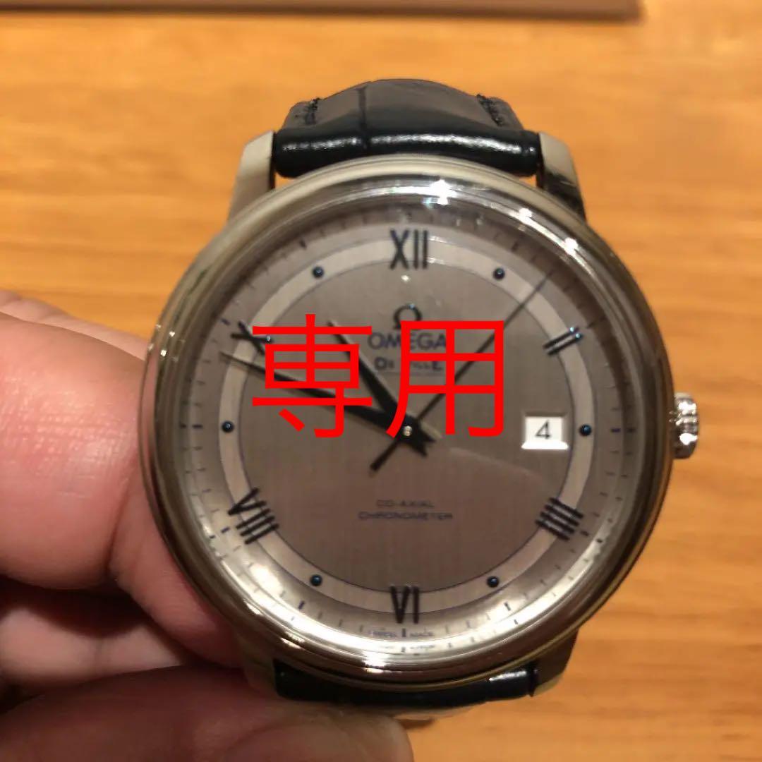 outlet store 75931 05f2c 腕時計 オメガデビルプレステージコーアクシャル(¥170,000) - メルカリ スマホでかんたん フリマアプリ