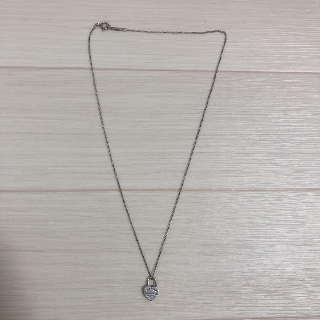 on sale ad547 29692 ティファニー シルバー ネックレス ハート アクセサリー Tiffany(¥ 4,000) - メルカリ スマホでかんたん フリマアプリ