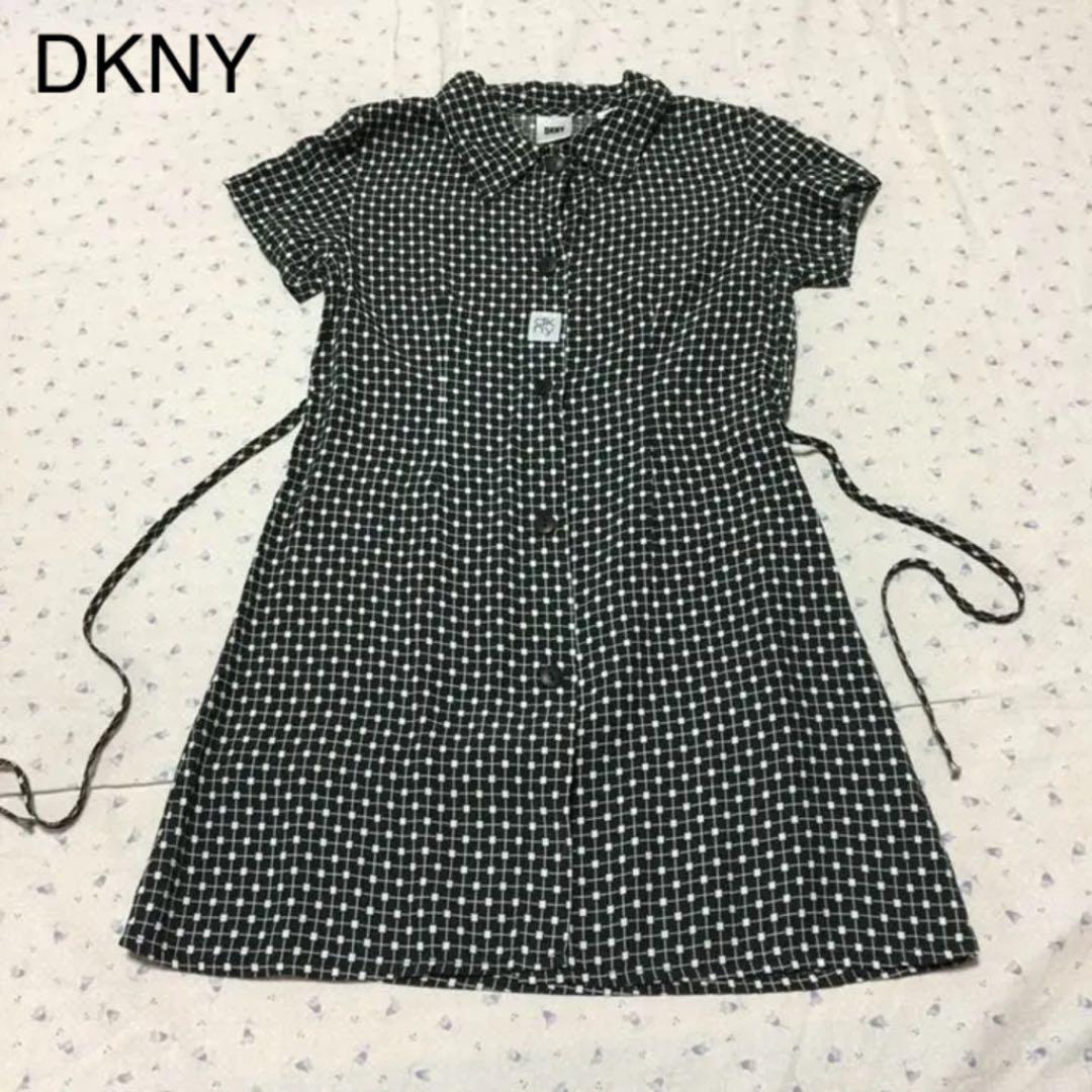 04b372959d3cd メルカリ - DKNY ダナキャラン 110㎝ シャツワンピースの 【ダナ ...